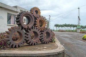 Крупная промышленность и земледелие